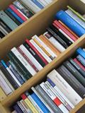 Omgevallen boekenkast